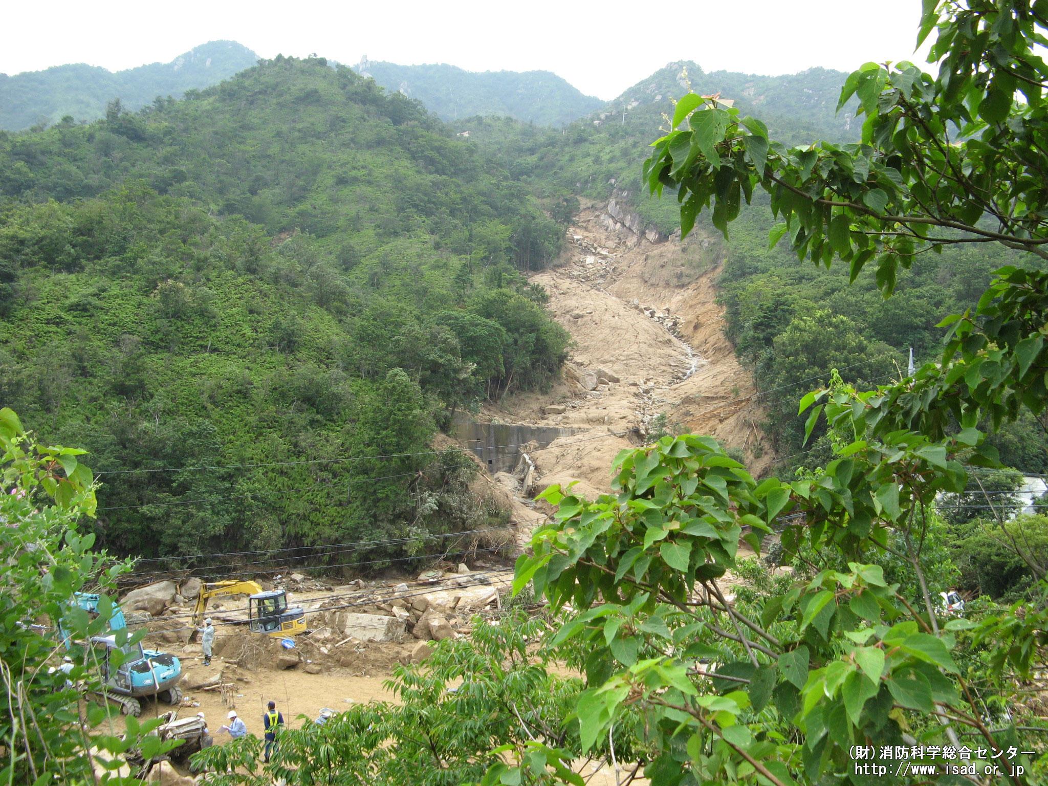 土砂災害の危険性