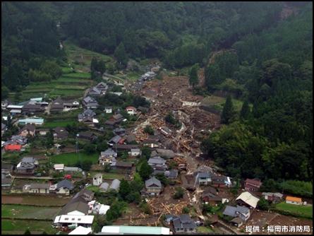 台風・豪雨の被害と備え